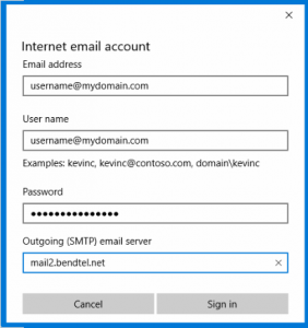 Email5 - Windows 10