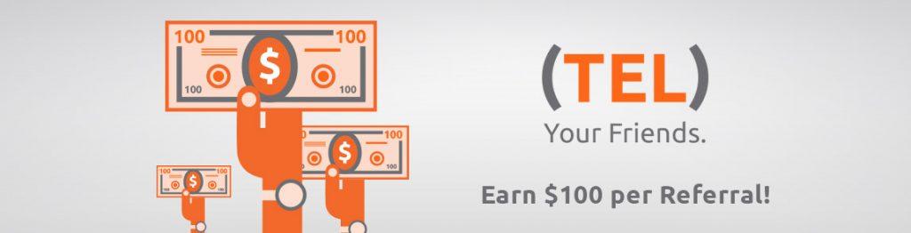 Earn $100 per Referral